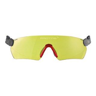 Protos Integral Schutzbrille Gelb